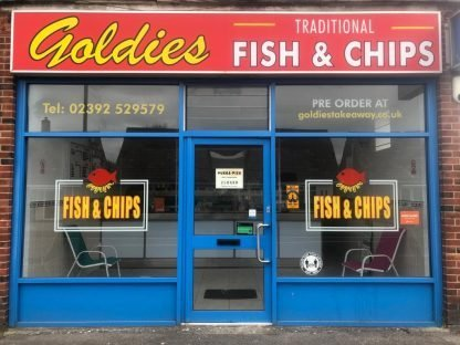 Goldies Fish & Chips - Gosport
